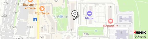 Kidland на карте Видного