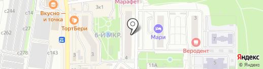 MSK Rental на карте Видного