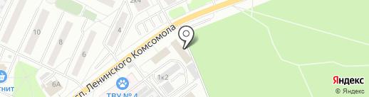 Эллин на карте Видного