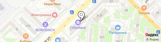 Сбербанк, ПАО на карте Мытищ