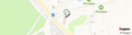 Искорка на карте Одинцово