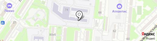 Школа каратэ Виталия Энеева на карте Мытищ