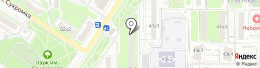 СантехПрофУслуги на карте Мытищ