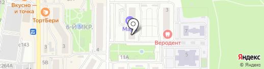 Надежда на карте Видного
