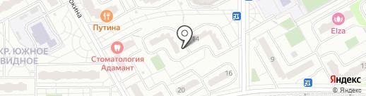 Ситимаркет на карте Видного