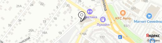 Лингвалэнд на карте Новороссийска