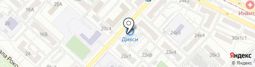 СтройЛидер на карте Москвы