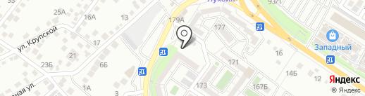 Френч на карте Новороссийска