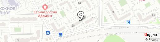 Купеческий на карте Видного