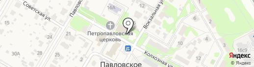 Павловский сельский дом культуры на карте Павловского