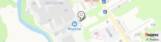 АМЕТИСТ-СБ на карте Домодедово