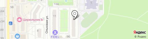 НАШИ ДЕТИ на карте Видного