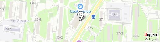 Банкомат, Банк Возрождение, ПАО на карте Мытищ