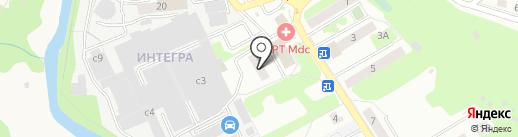 Метро Информ на карте Домодедово