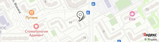 Анимаслон на карте Видного