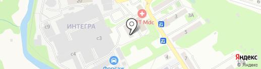 Вип Такси на карте Домодедово