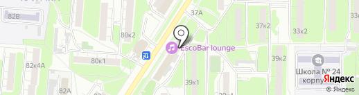 АКБ+ на карте Мытищ