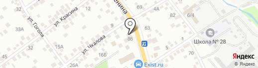 Клиника Жигаловых на карте Новороссийска