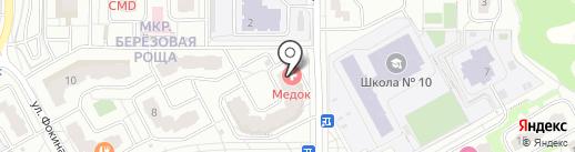 Макошь на карте Видного