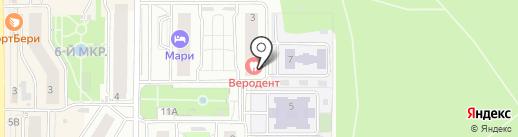 Веродент на карте Видного