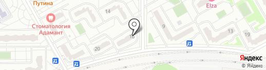 Фреш на карте Видного