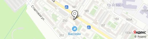Мамайка на карте Новороссийска