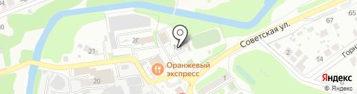 Фокин на карте Домодедово
