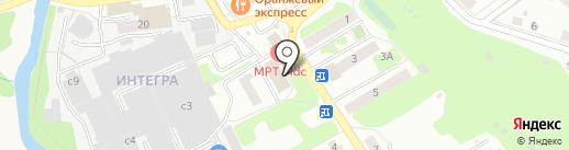 Участковый пункт полиции на карте Домодедово