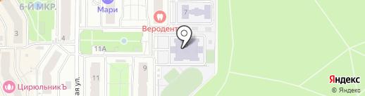 Средняя общеобразовательная школа №9 на карте Видного
