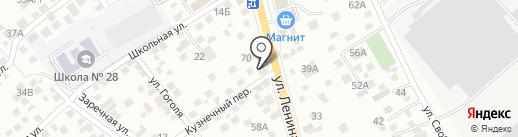 АВТОритет на карте Новороссийска