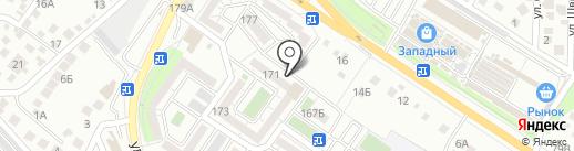 Наш двор-РСК на карте Новороссийска