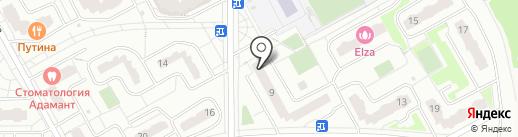ЛАЙК на карте Видного