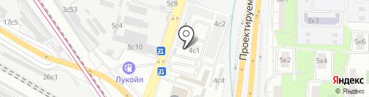 DEFRO на карте Москвы