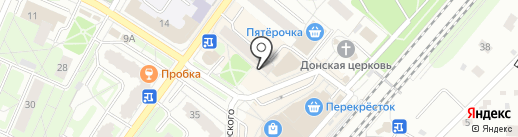 Экофабрика Старославъ на карте Мытищ