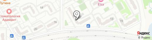 Магазин стройматериалов на карте Видного