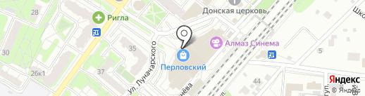 АКБ Авангард, ПАО на карте Мытищ