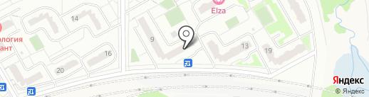 Веселая расческа на карте Видного
