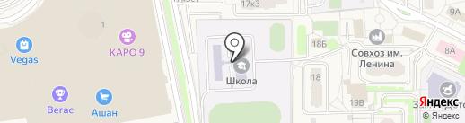 Школа совхоза им. Ленина на карте Совхоза имени Ленина
