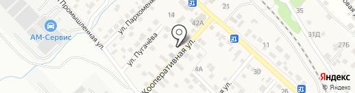 Библиотека №12 на карте Новороссийска