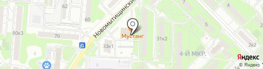 Электрообогрев.рф на карте Мытищ