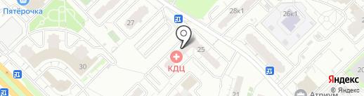 ВКТ на карте Мытищ