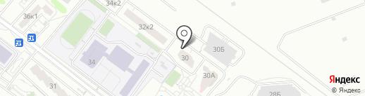 Домстрой на карте Мытищ