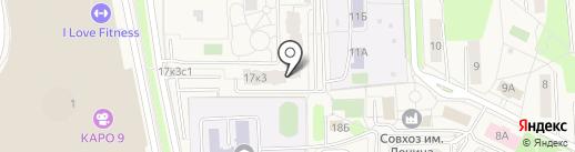 Секонд-хенд на карте Совхоза имени Ленина