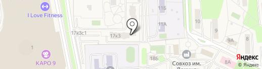 Домовой на карте Совхоза имени Ленина