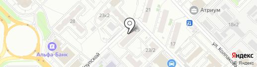 Элеонора на карте Мытищ