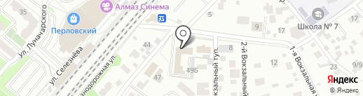 Почтовое отделение №141022 на карте Мытищ
