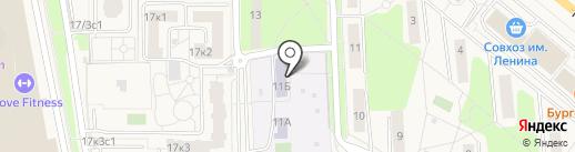 Детский сад №13 на карте Совхоза имени Ленина