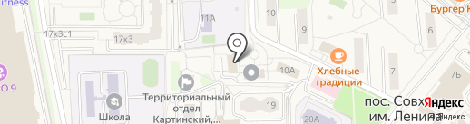 Администрация сельского поселения Совхоз им. Ленина на карте Совхоза имени Ленина