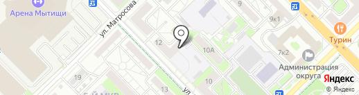 МосОблРемБытТех на карте Мытищ