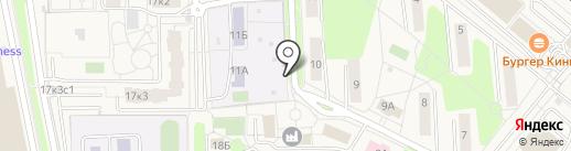 Первая полоса на карте Совхоза имени Ленина